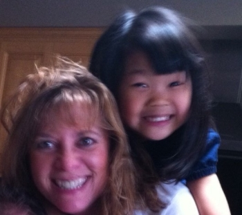 BECOMING A MOTHER   - In 2005, Beth adopted a baby girl from China. Olivia is the light of her life and Beth was totally meant to be a mother. I know this because Beth was my go-to girl for parenting advice even  before  she had became a parent.