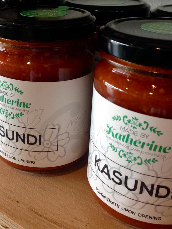 Kasundi   What is Kasundi ? It is a spicy and very savoury, tomato based condiment used to accompany curries and other such wintry dishes.  A couple of years back, when I added this product to our range, I envisaged it to be a popular winter condiment. It has turned out to be very versatile and popular all year round, with many of our customers enjoying it with a summer BBQ.  In the warmer months, I purchase box loads of beautiful quality, spray free tomatoes directly from a grower in Northern Victoria. One of the many things I love about my work, is the network of great people I work with. Small growers and producers are passionate, committed and largely unassuming folk. I am in awe of their extensive knowledge.  Recently, while heading back to Melbourne from an interstate event, I stopped to purchase such tomatoes. While I write this, an incredibly fragrant batch of Kasundi is simmering on the stove. After some unusually hot and humid weather, today really feels like an autumn day. I am thinking about Kasundi on sourdough toast with avocado for lunch. My kids love it on top of grilled cheese. It is also delicious with eggs on toast. Like all our products, it is also 'vegan friendly' and is a delicious addition to such dishes.  We've also enjoyed this in hamburgers and sandwiches as well as with all kids of roasts and grills. We don't do anything super spicy, but if you desire extra heat - just add a pinch of dried chilli flakes. This product is available at all our regular markets, and is also now available in our online store.  Time for that sourdough toast right now !