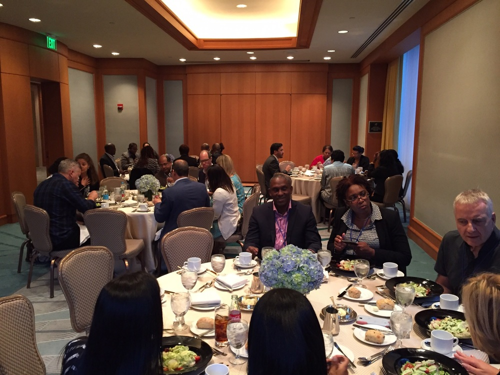 IPCA members enjoying lunch at the Four Seasons, Miami