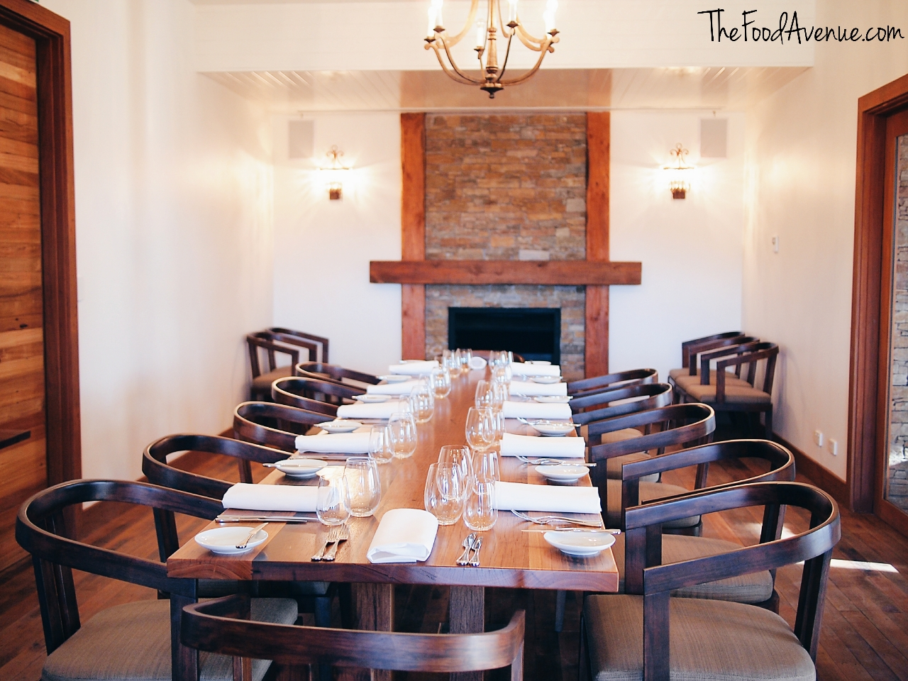 Pialligo Farmhouse Restaurant private dining room