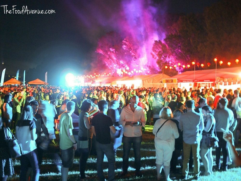 Crowds at the Night Noodle Markets