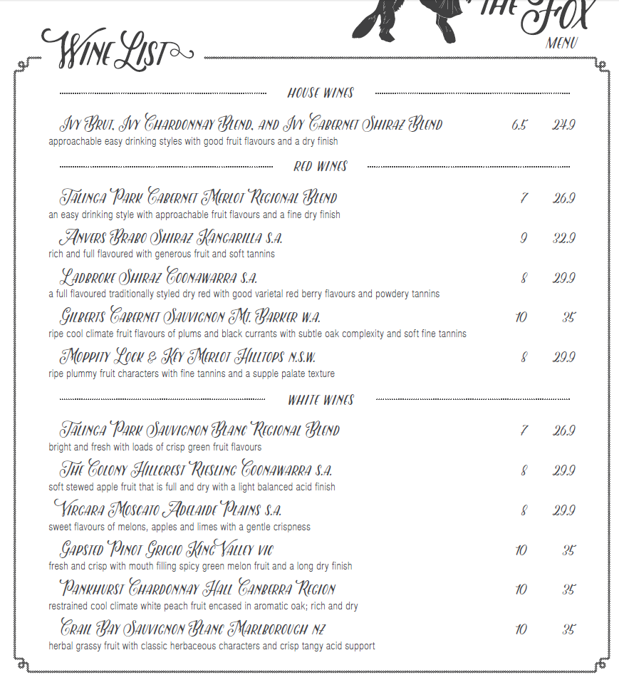 Ivy_and_the_fox_menu_wine