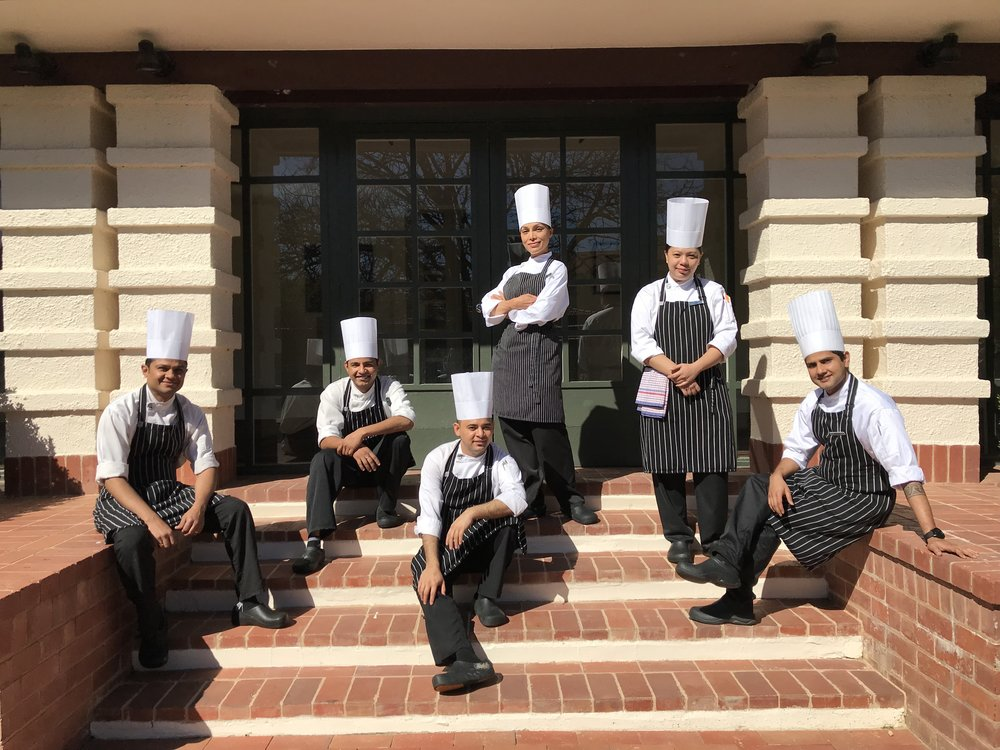 Image supplied: the six competitors