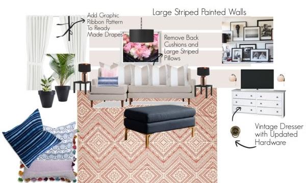 Family Room Design Board 3