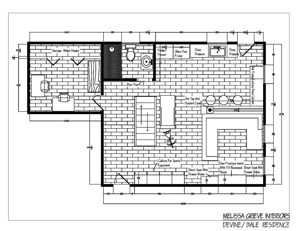 Floor Plans, Guelph, Interior Design
