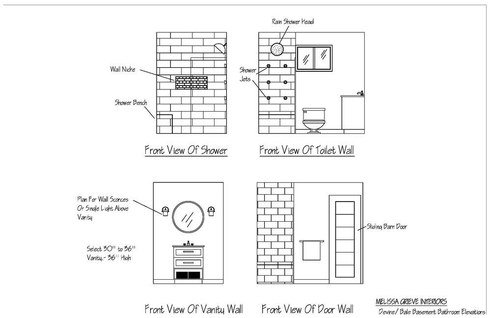 Guelph Bathroom Design Plans