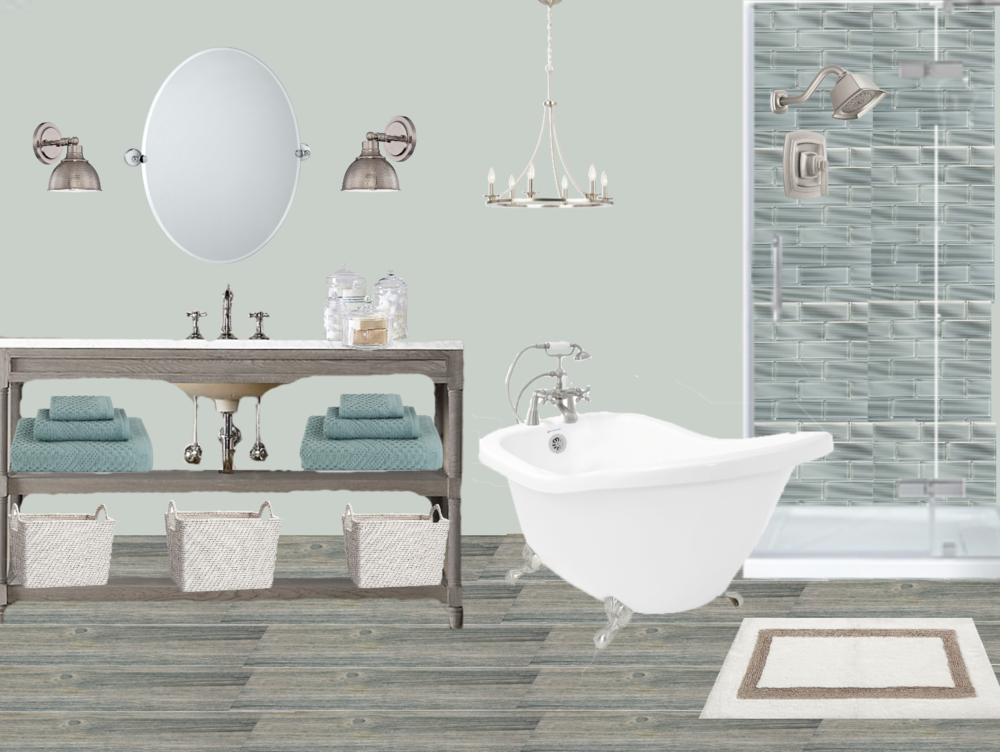 Online Interior Design Concept A Bathroom Design