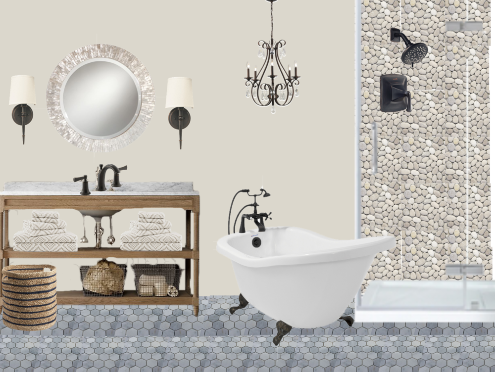 Online Interior Design Concept B Bathroom Design