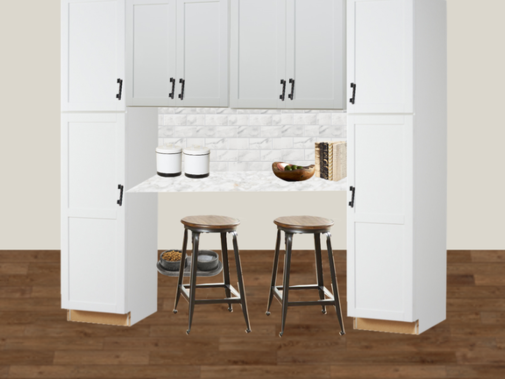 Online Interior Design Final Kitchen Pantry Design