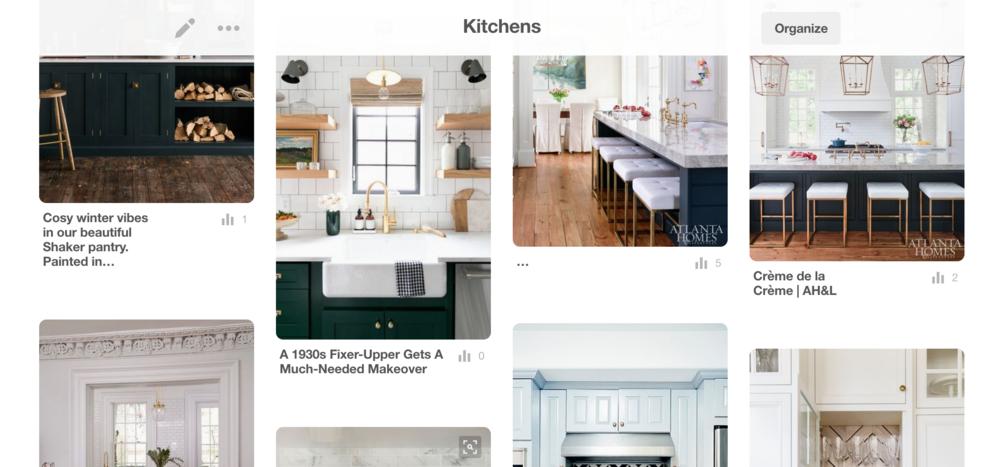 Kitchen Pinterest Inspiration