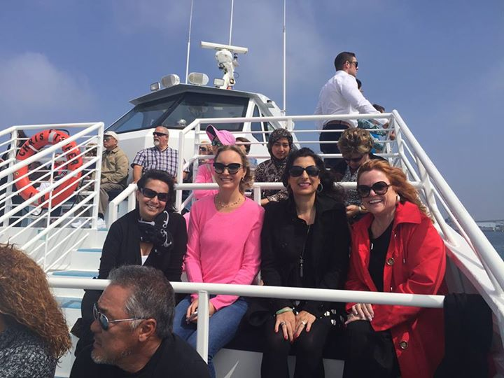Doing the LA Harbor Cruise with our Real Estate Crew!
