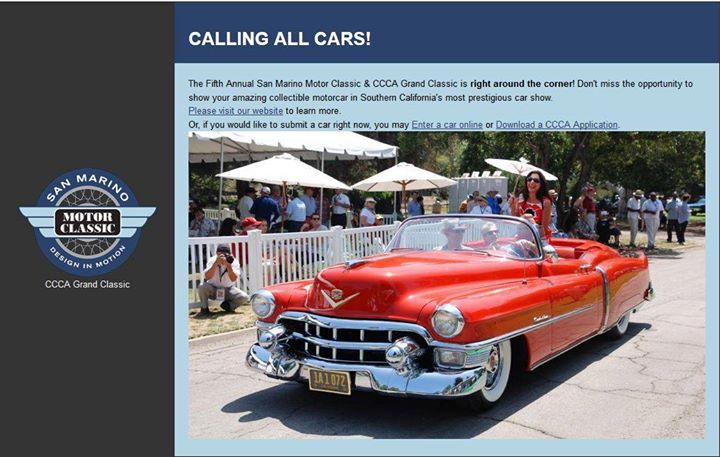Mel, 1953, San Marino Car Show.  Made the front page of their website.