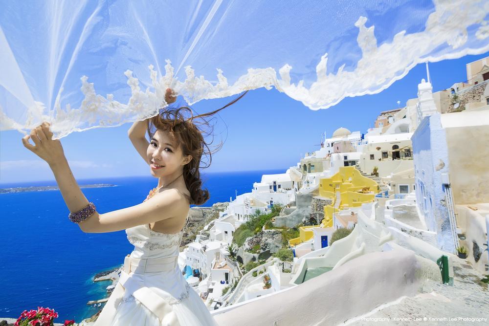 Santorini Pre-wedding