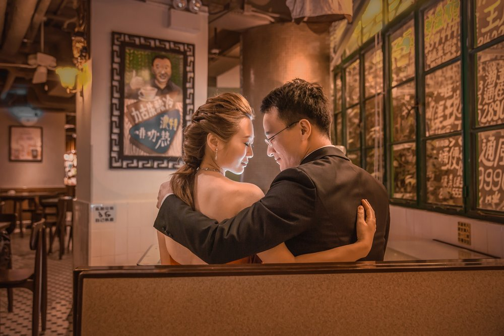 Hong Kong Prewedding - Starbucks