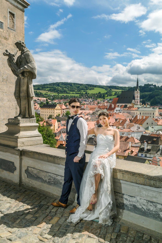 Prague Prewedding - Cesky Krumlov