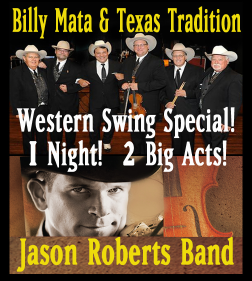 Get YourTickets NOW for this Western Swing Saturday Night!