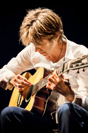 Austin guitar legend Eric Johnson  Photo credit:  Max Crace