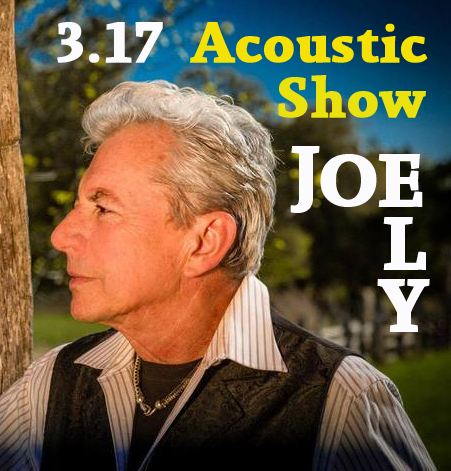 Lubbock legend Joe Ely - set for St . Patty's!