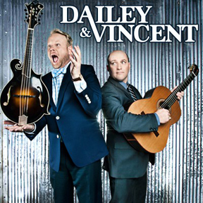 Jamie Dailey and Darrin Vincent - The dynamic bluegrass duo play the Cactus!
