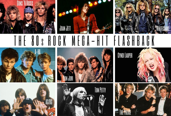 This show is pure '80s rock….filled with the chart-toppers that defined the decade!