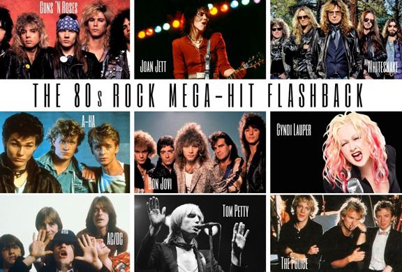 The '80s Rock Mega-Hit Flashback — Cactus Theater