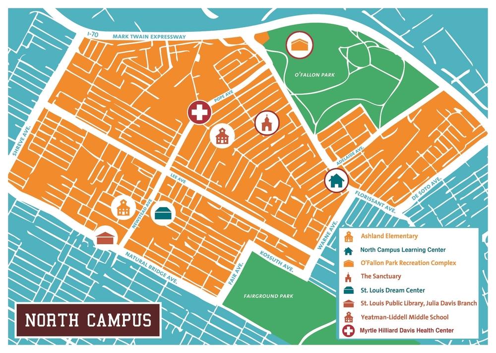 Map North Campus