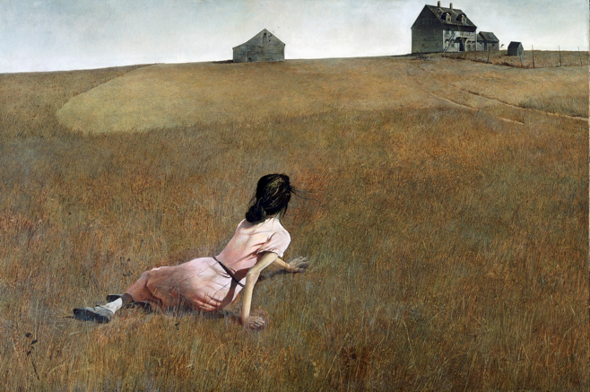 Christina's World Andrew Wyeth 1948