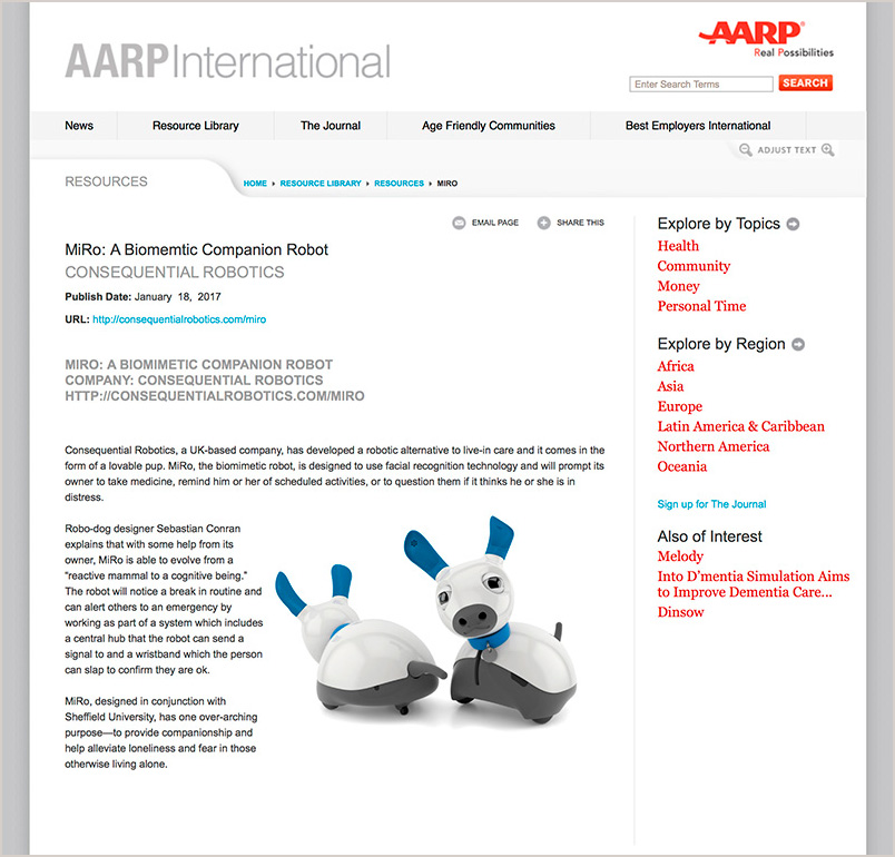 AARP International