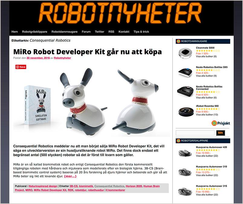 Robotnyheter