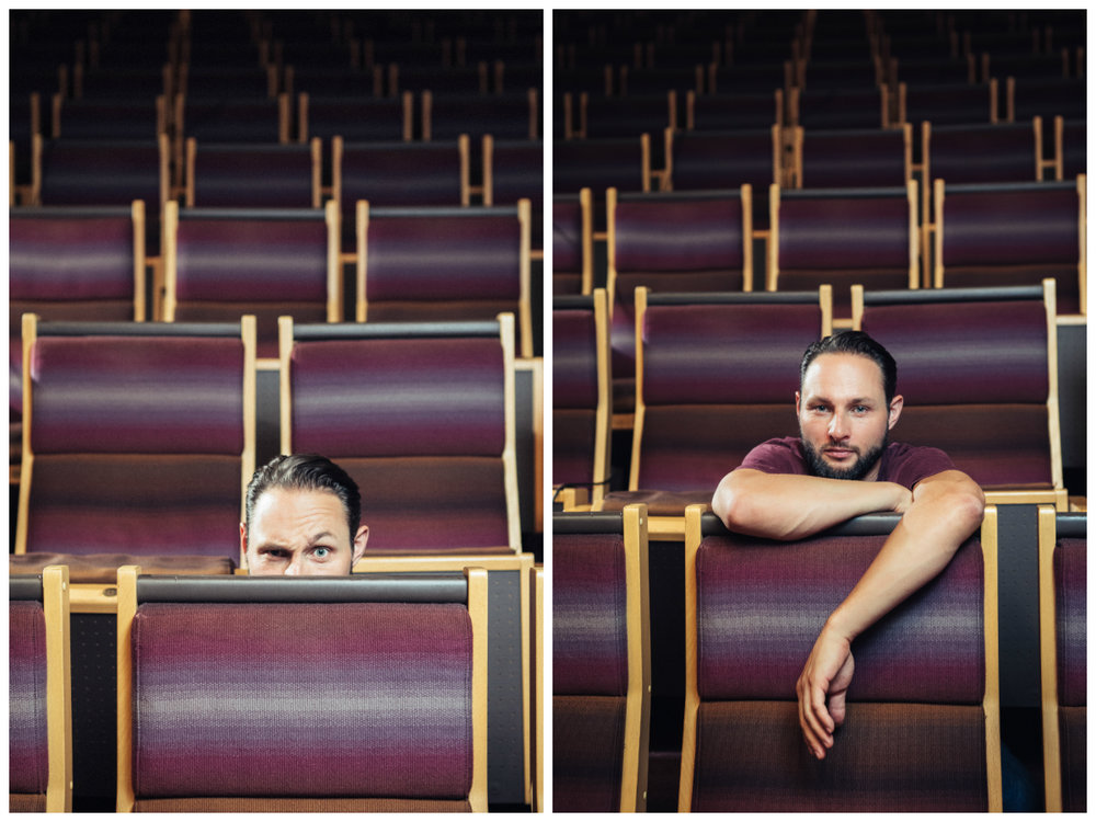 Alexandre Espigares - On-location Portrait, Luxembourg Conservatoire