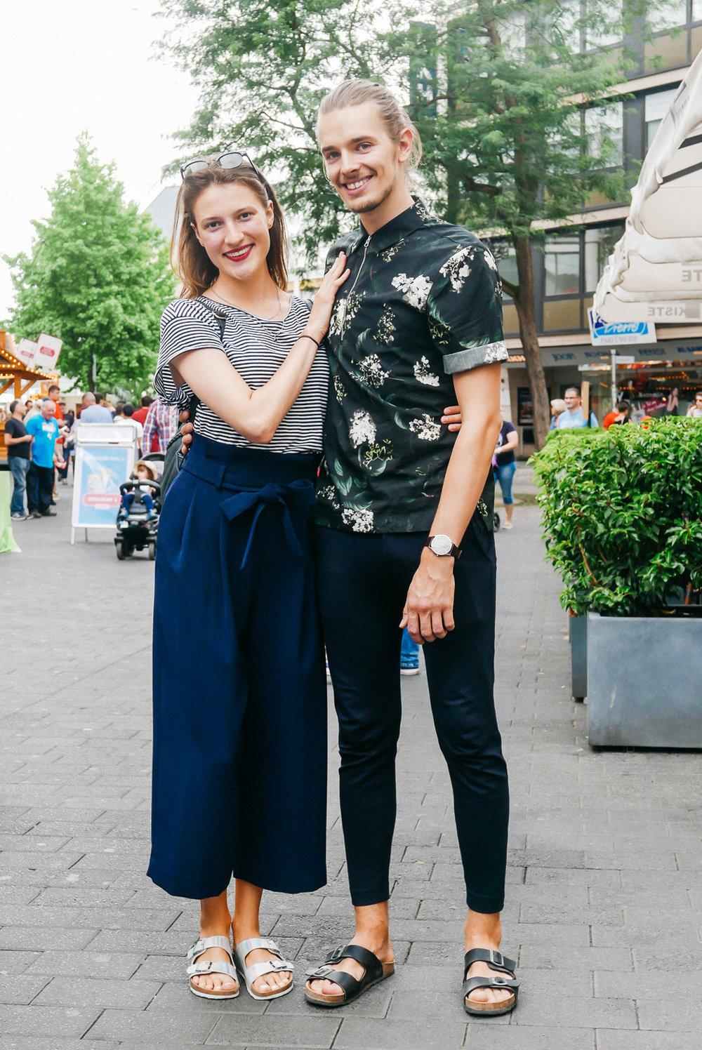 Jessica Fleissig und Florian Orth