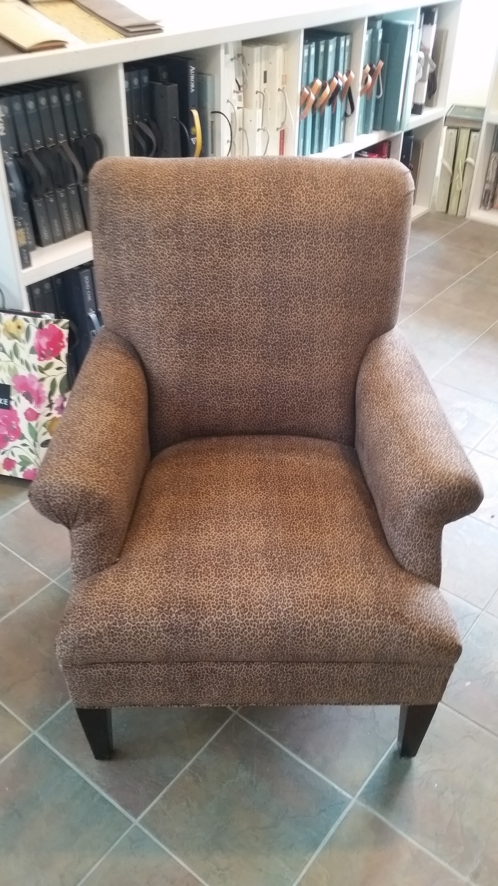 Kravet Leopard Print Chair