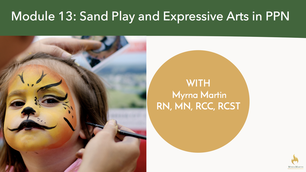 Module 13: Sand Play and Expressive Arts in PPN