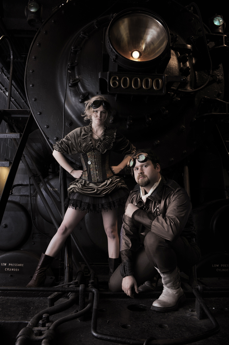 Define: steampunk. Like, this is what you get if you look it up on Wikipedia.