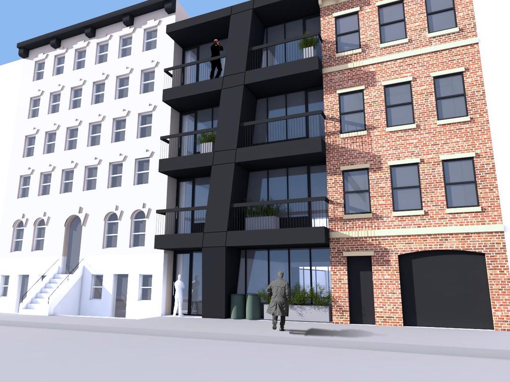 South 1st Street  - New Building Scheme