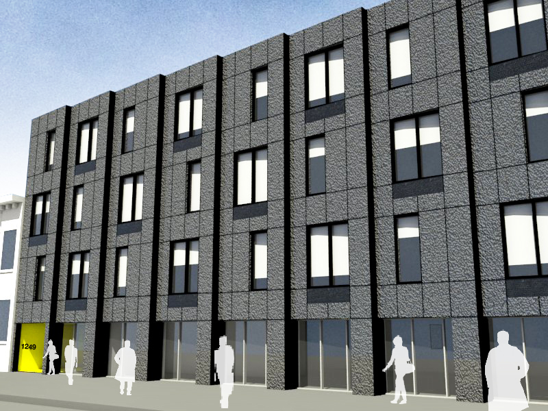 Union Street  - New Building Scheme