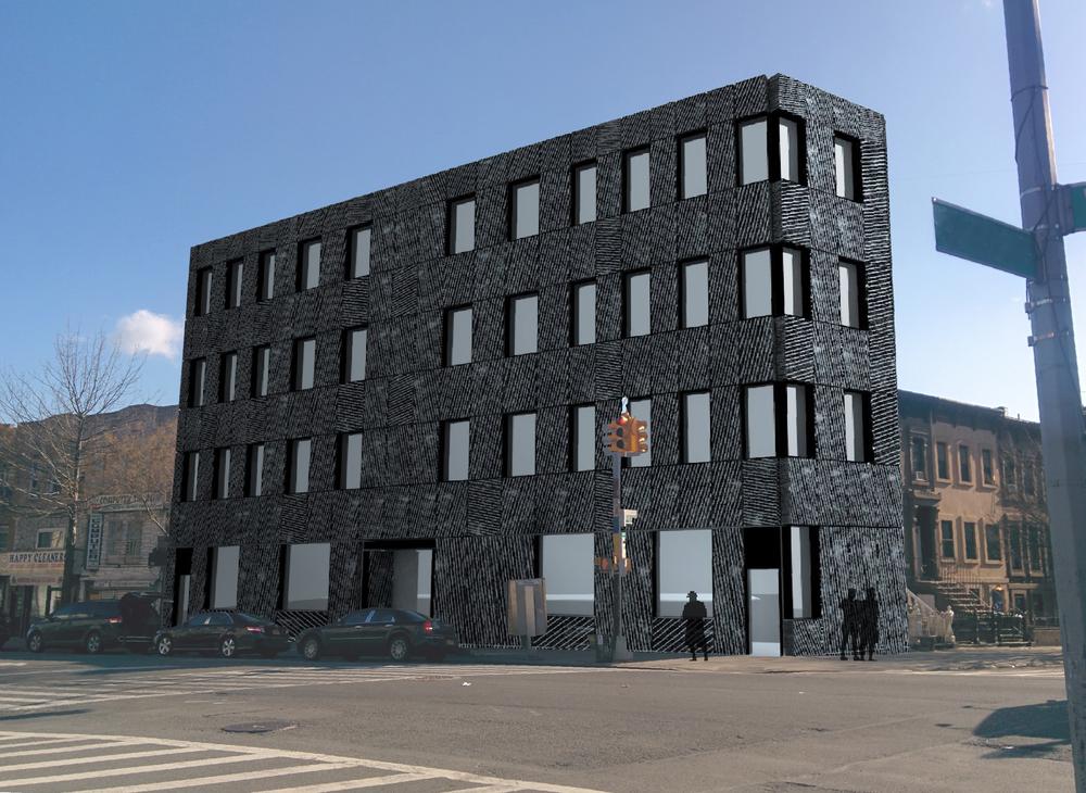 Washington Avenue - New Building Scheme