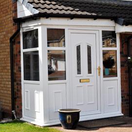 Better windows kent porches better windows kent upvc for Double glazed porches