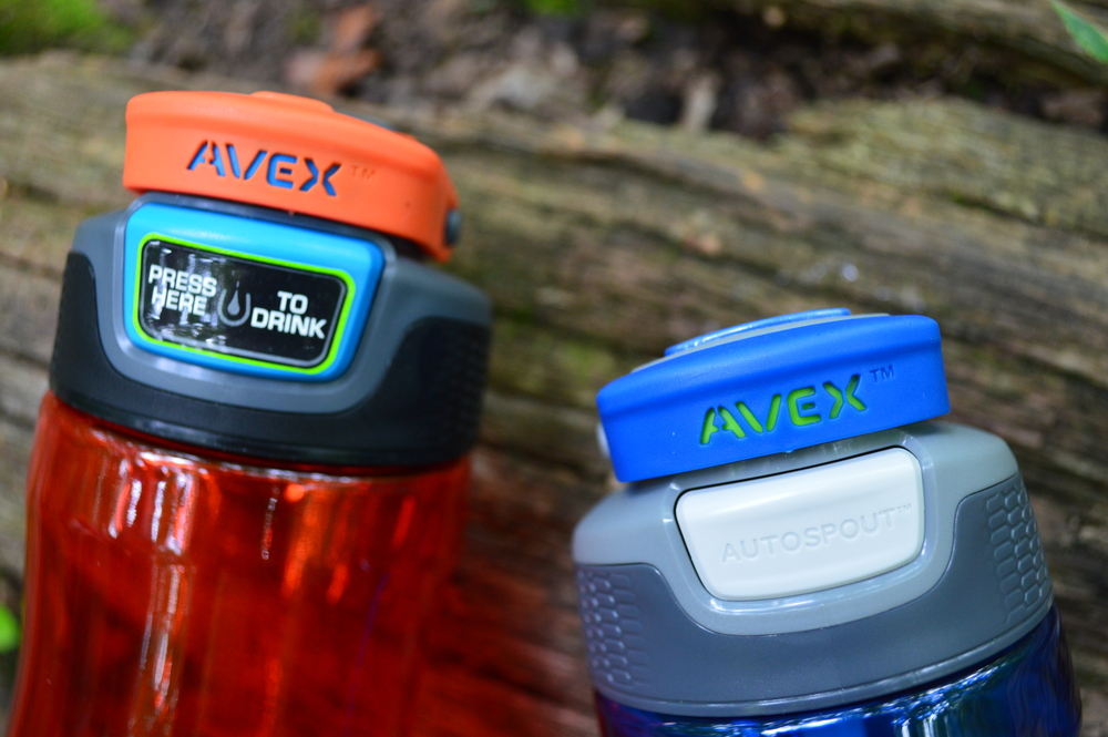 Avex Wells Autospout and Avex Brazos Autoseal Water Bottle Review