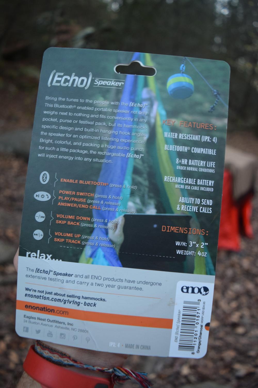 ENO Echo Bluetooth Speaker Review