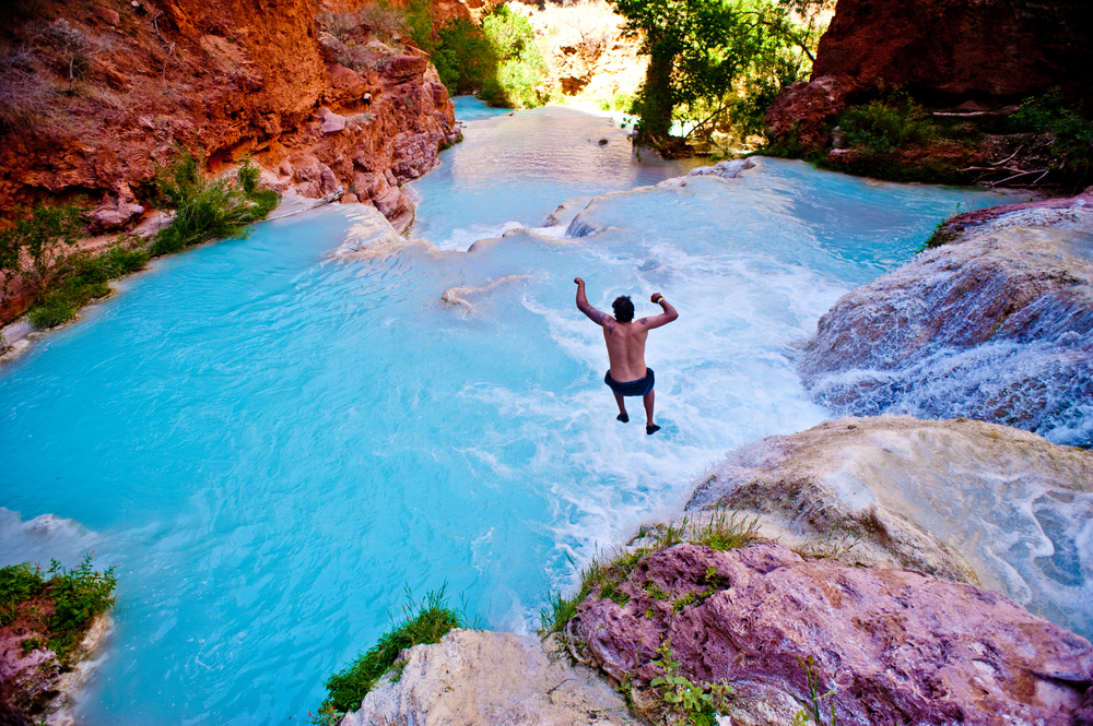 Havasupai Fall's two days! Get here