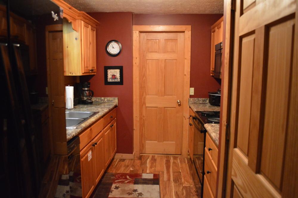 A Black Bear's Hideaway Cabin