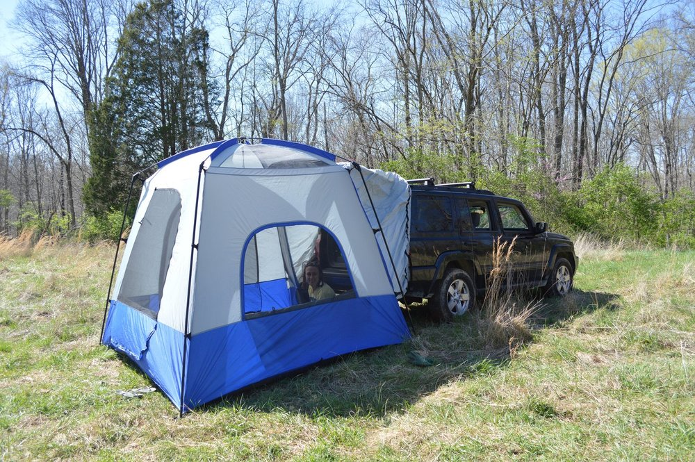 NAPIER OUTDOORS SUV TENT REVIEW | SPORTZ SUV TENT MODEL 82000 & NAPIER OUTDOORS SUV TENT REVIEW | SPORTZ SUV TENT MODEL 82000 ...