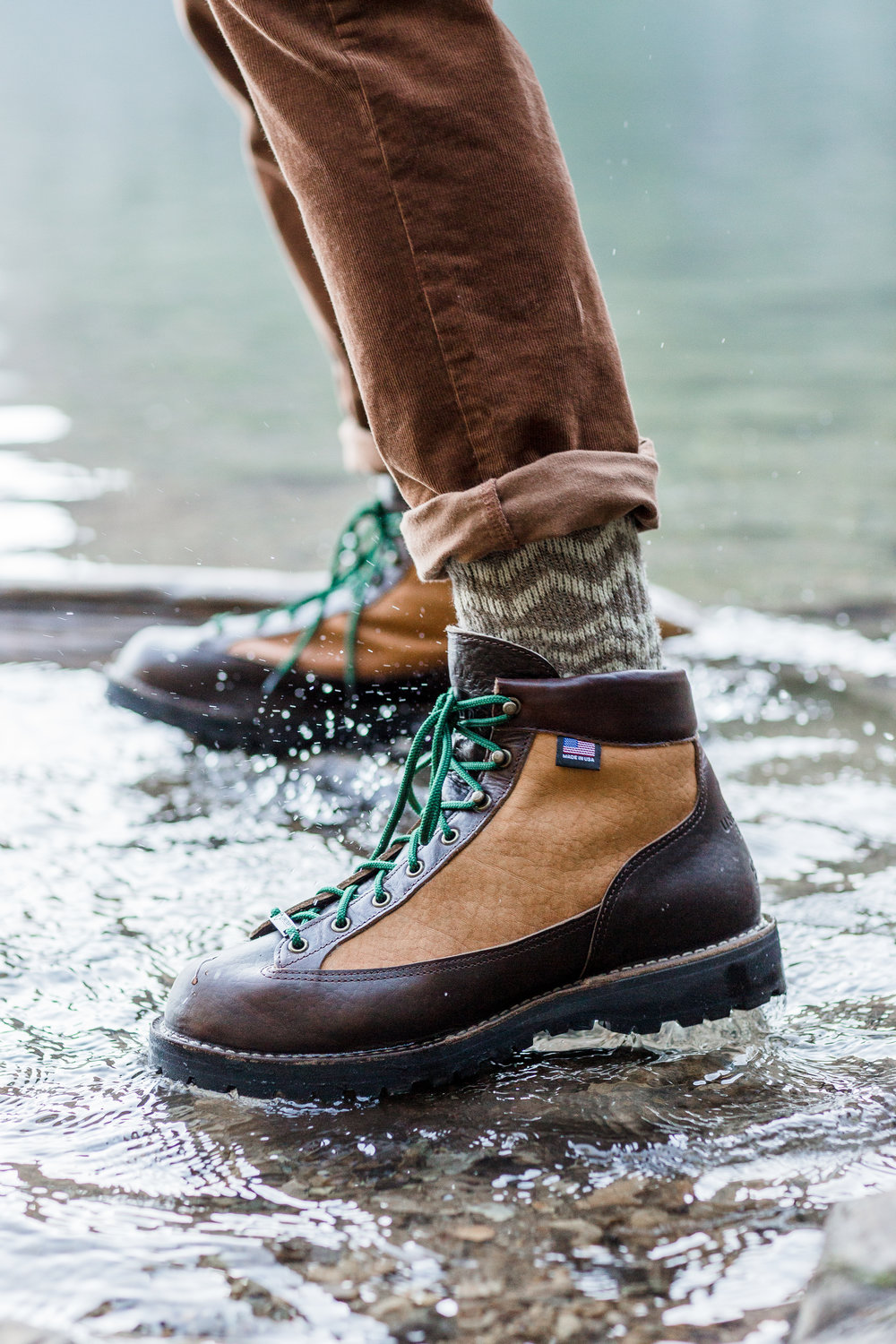 The Bison Light Boots are made of waterproof bison leather, and lined with waterproof and breathable Gore-Tex.