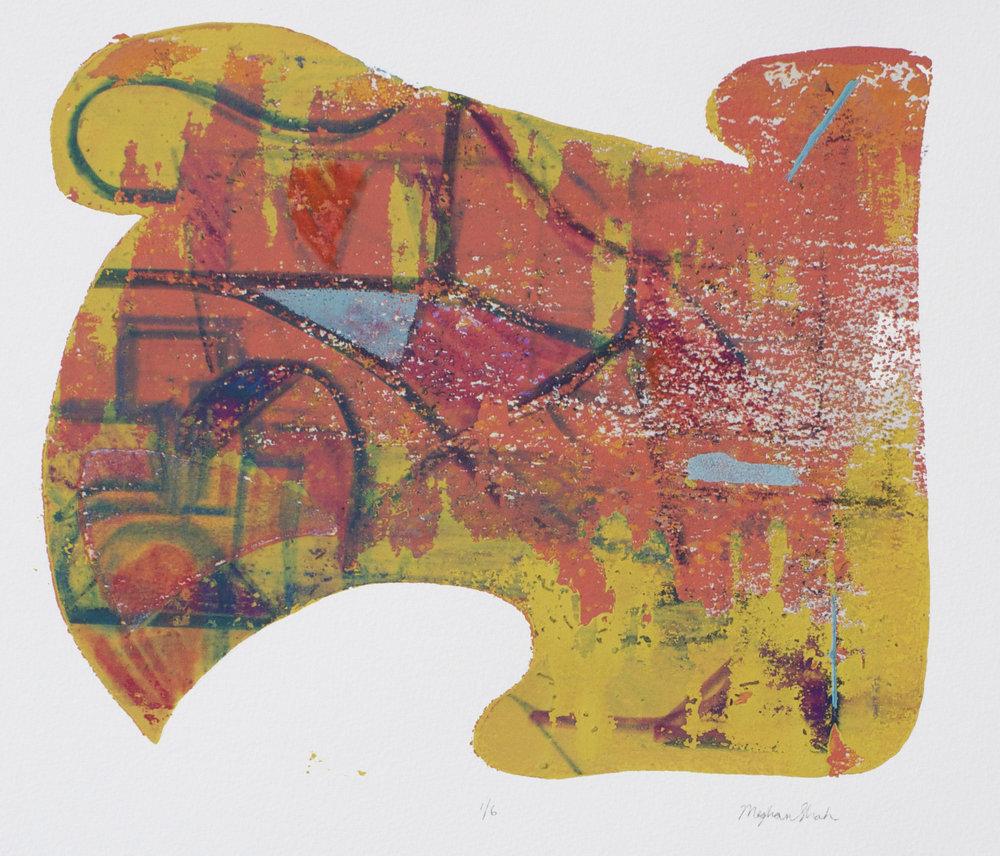 Silkscreen, 15x18, 2013
