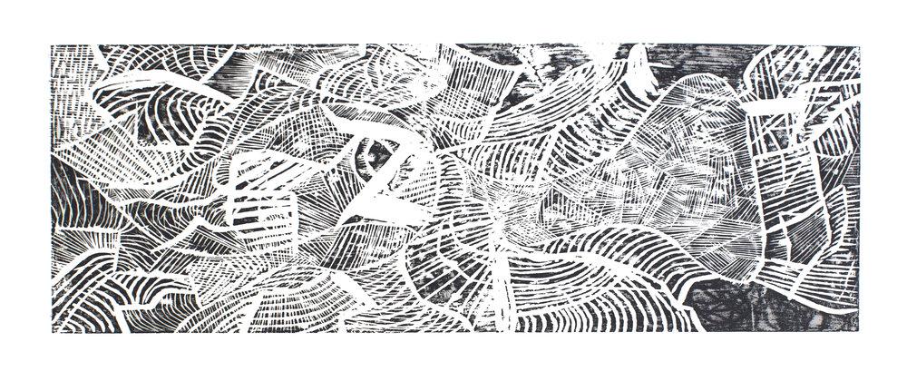 Woodcut, 22x11, 2014