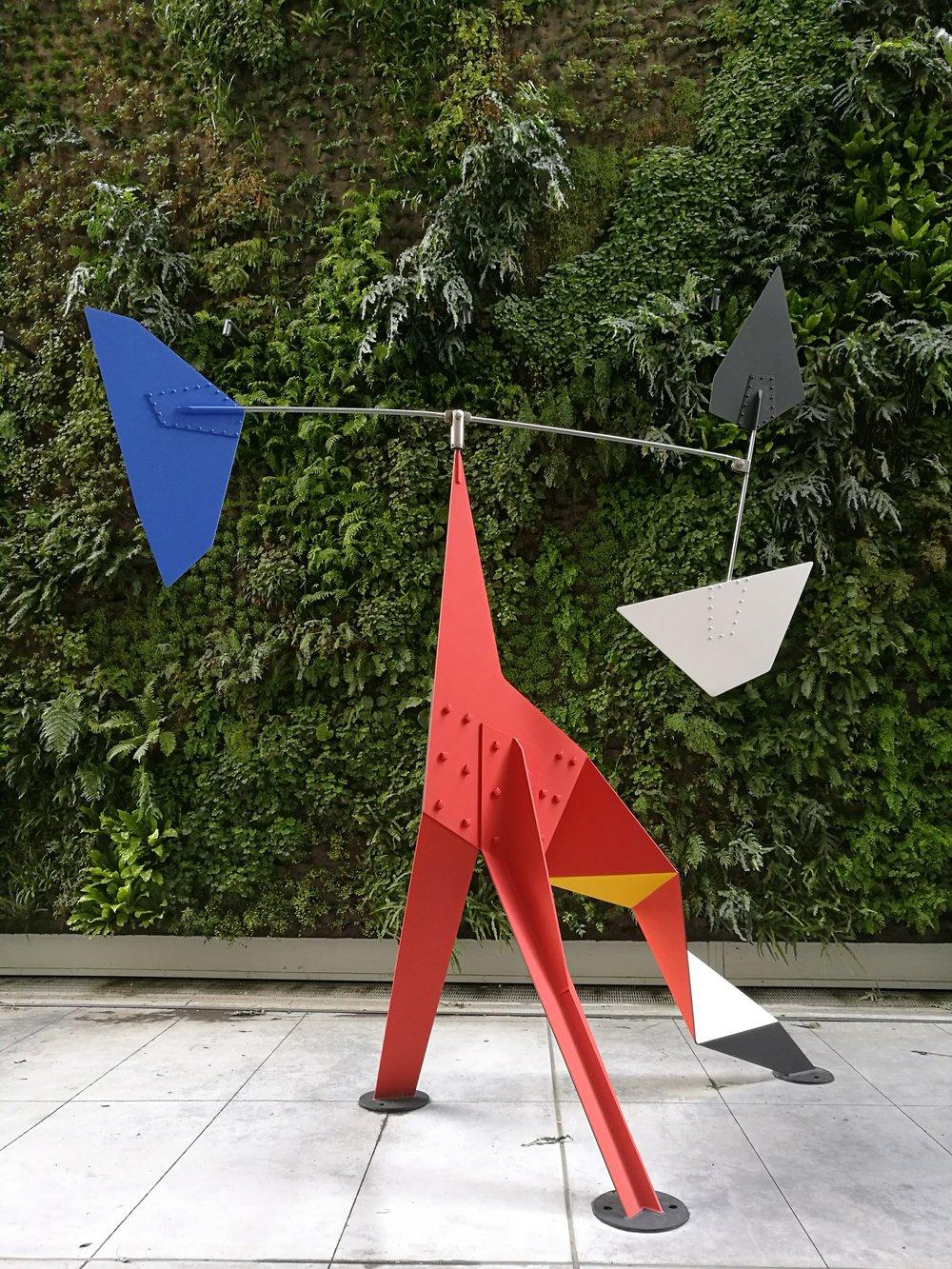 Calder exhibit