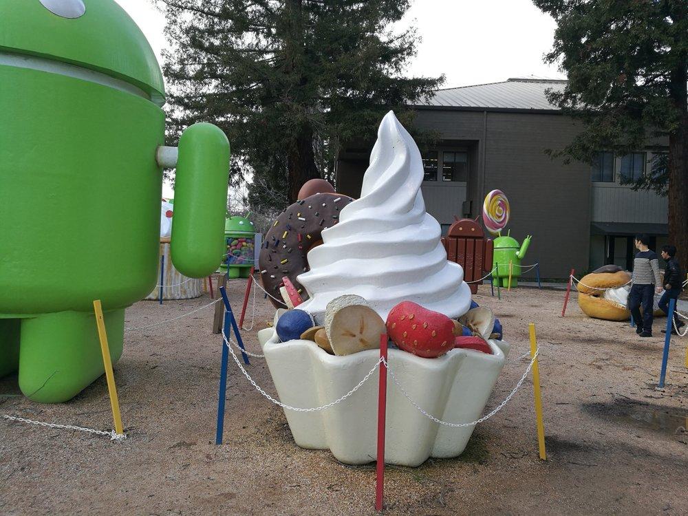 Android Sculpture Garden