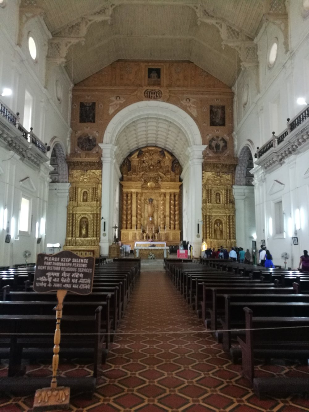 Portugese Church in Goa
