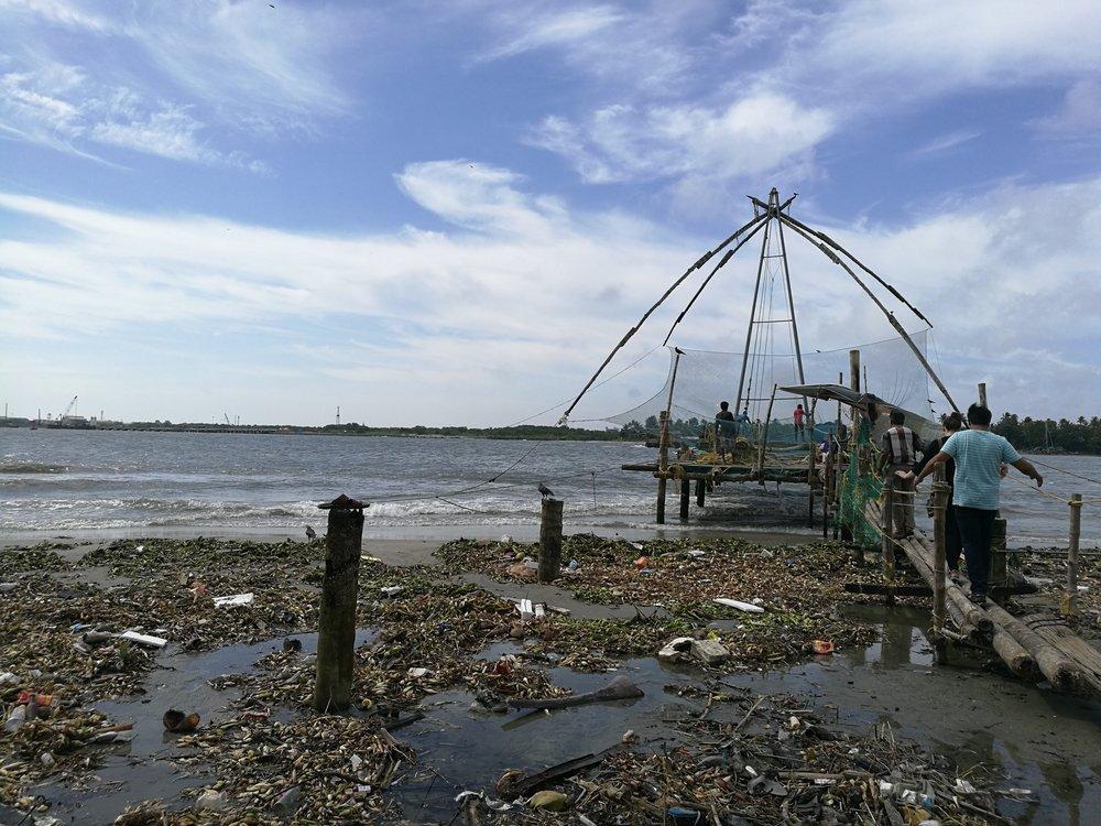 Chinese Fishing Nets in Kochin